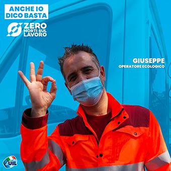 Giuseppe, operatore ecologico