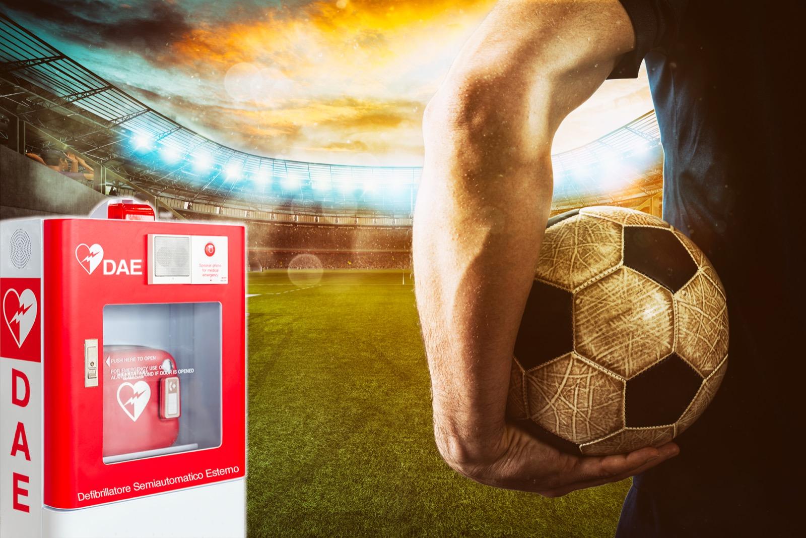 Defibrillatore nello sport