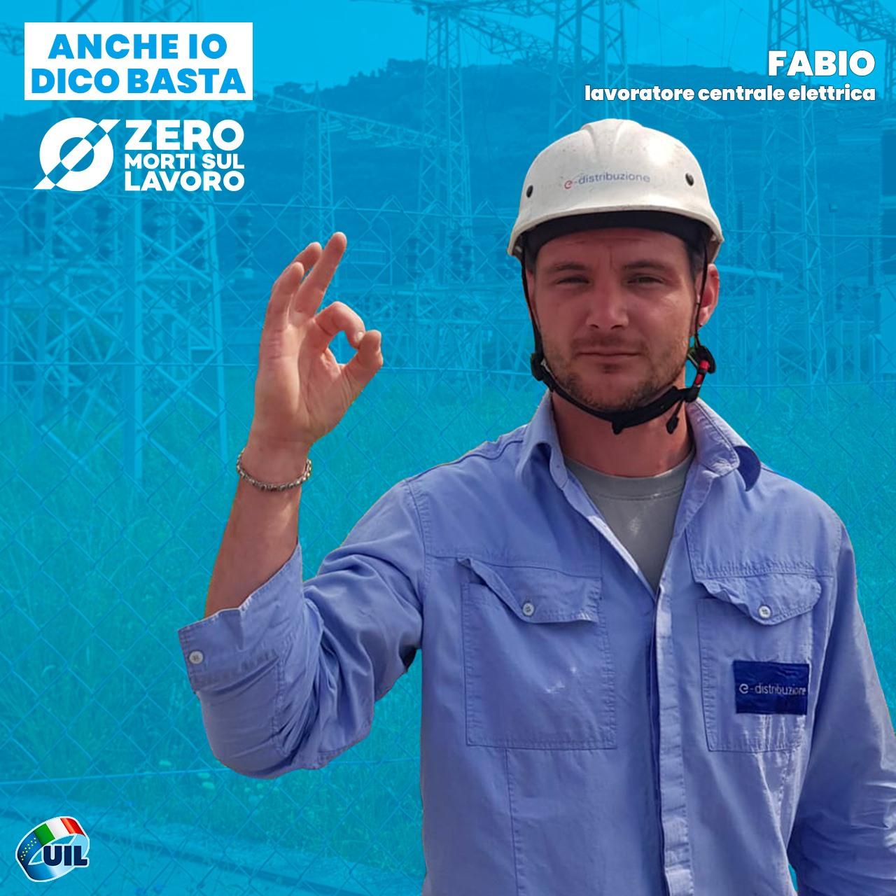 FABIO, lavoratore centrale elettrica